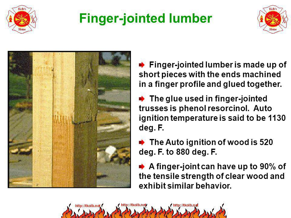 Finger-jointed lumber