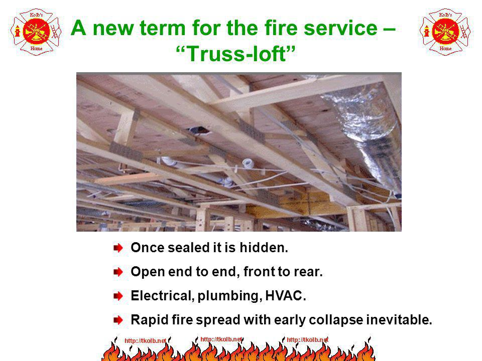 A new term for the fire service – Truss-loft