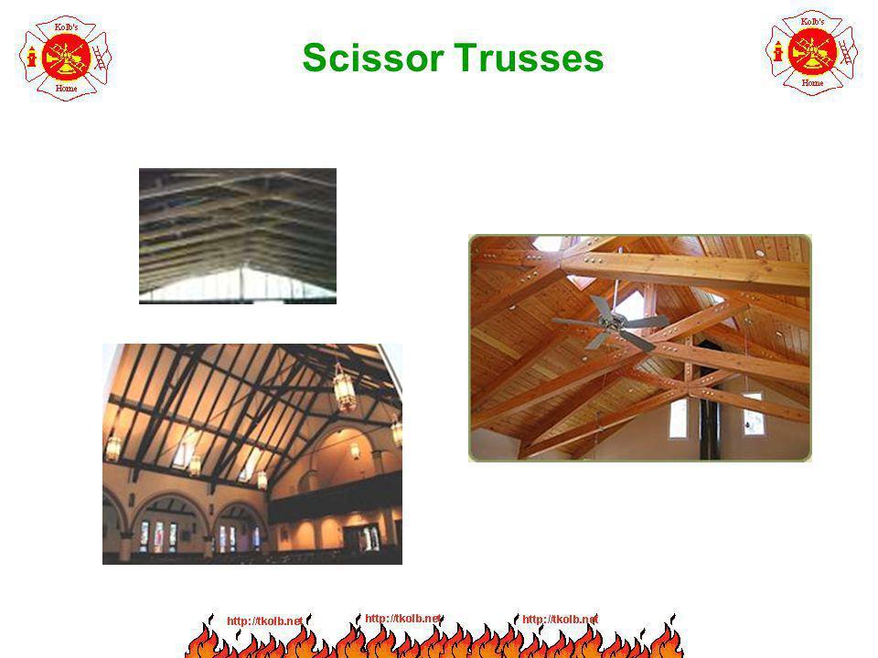 Scissor Trusses