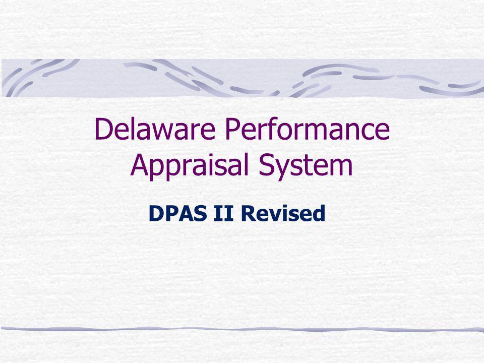 Delaware Performance Appraisal System