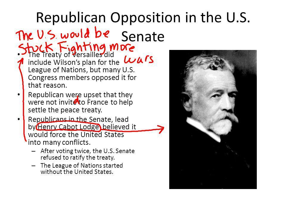 Republican Opposition in the U.S. Senate