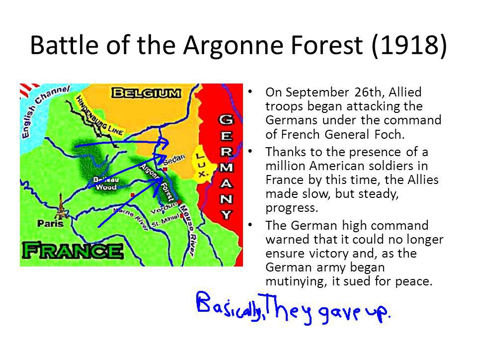Battle of the Argonne Forest (1918)