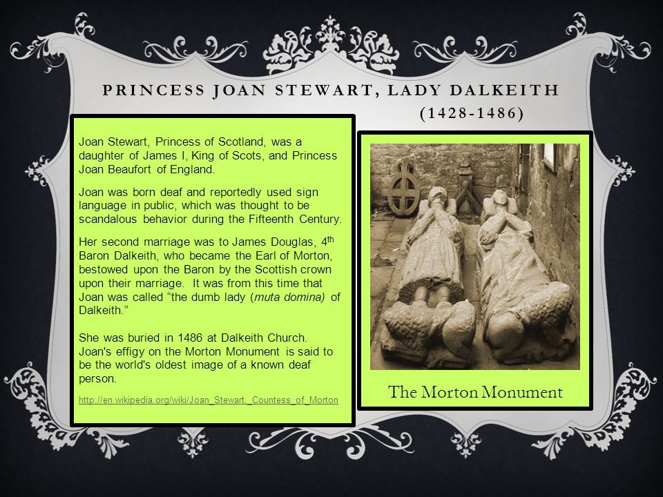Princess Joan Stewart, Lady Dalkeith Princess joan stewart, lady dalkeith (1428-1486)