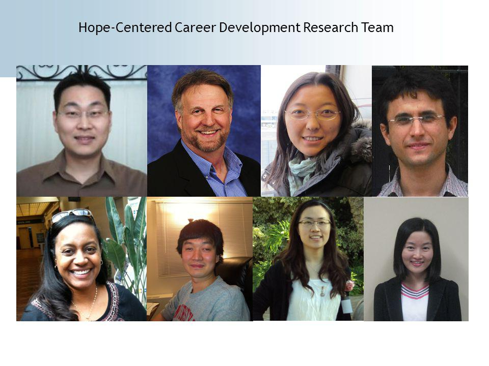 Hope-Centered Career Development Research Team