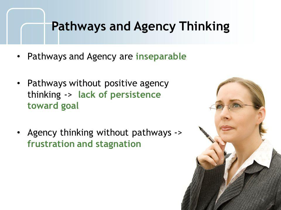 Pathways and Agency Thinking