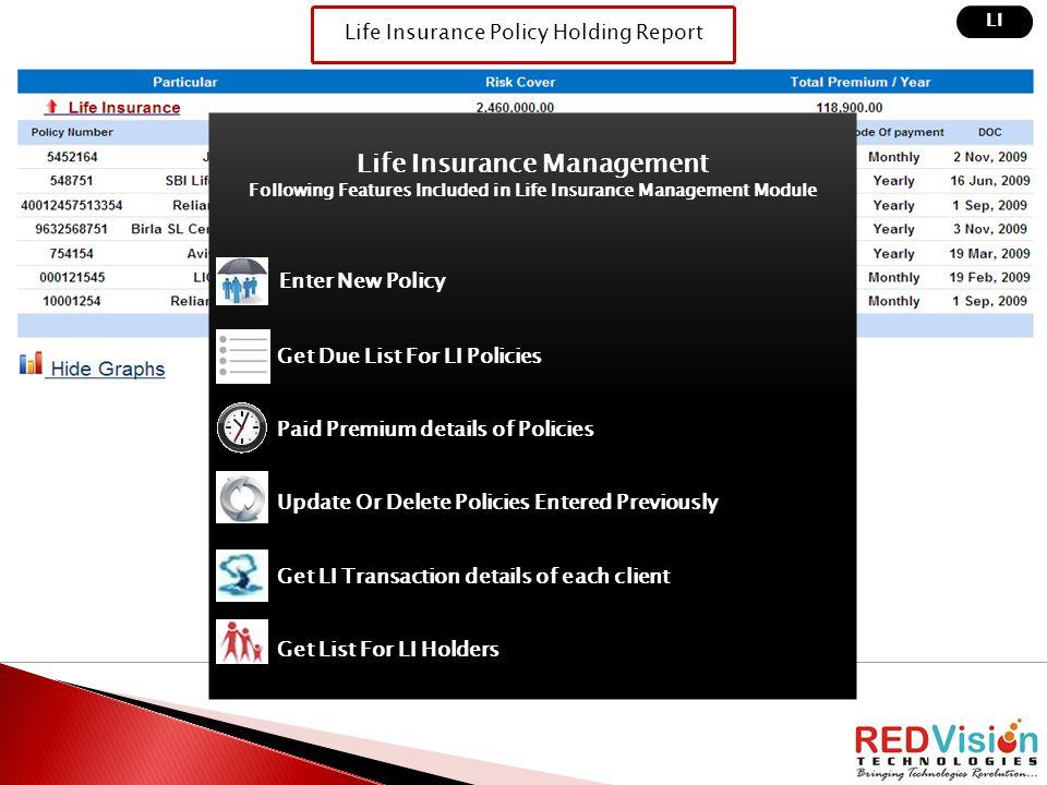 Life Insurance Management