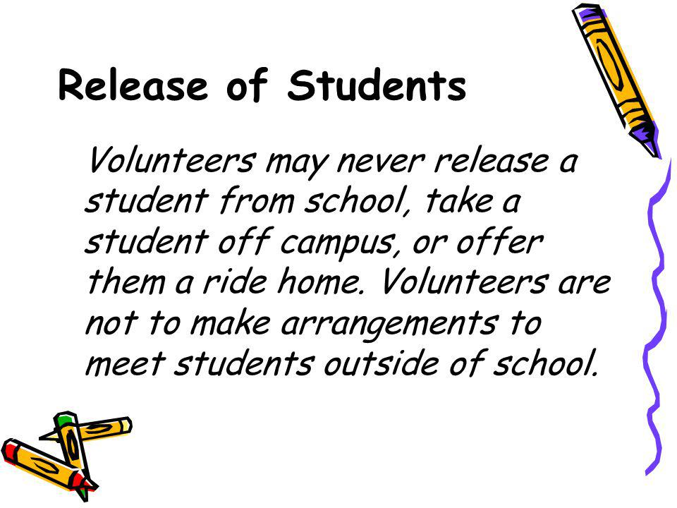Release of Students