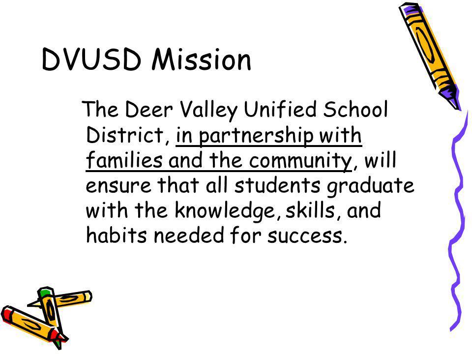 DVUSD Mission