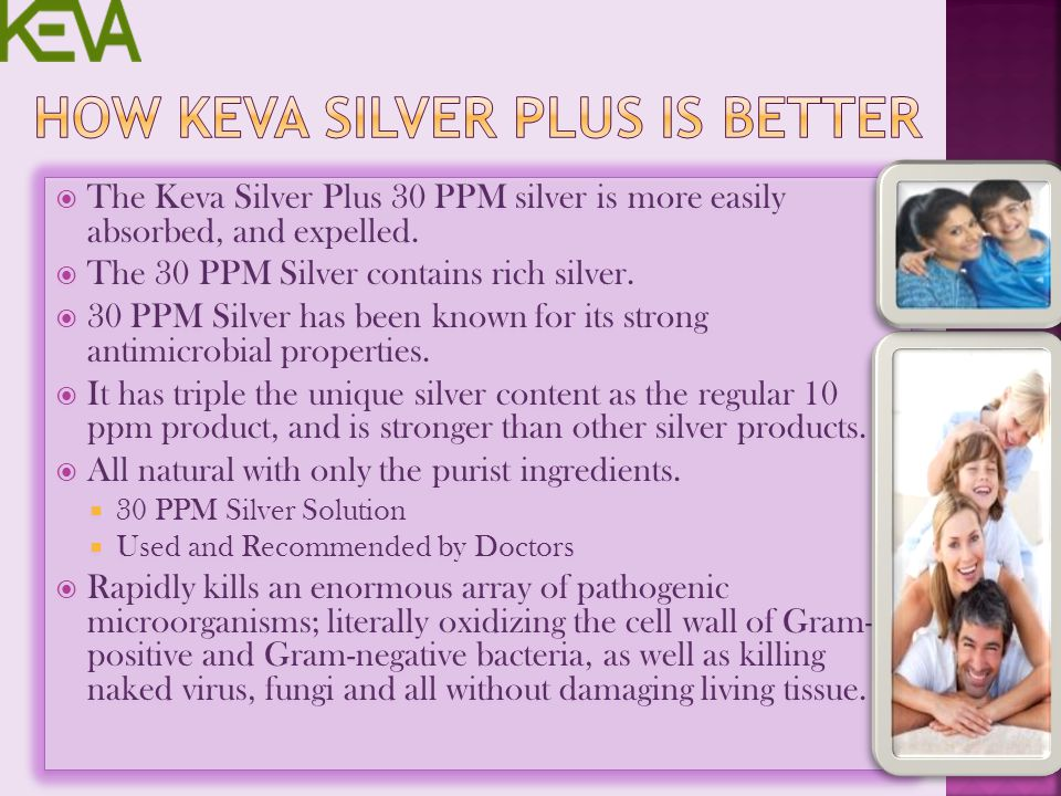 How Keva Silver Plus is Better