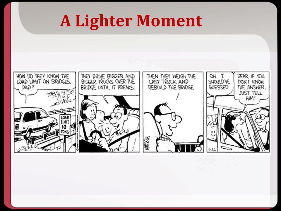 10/2013 A Lighter Moment.
