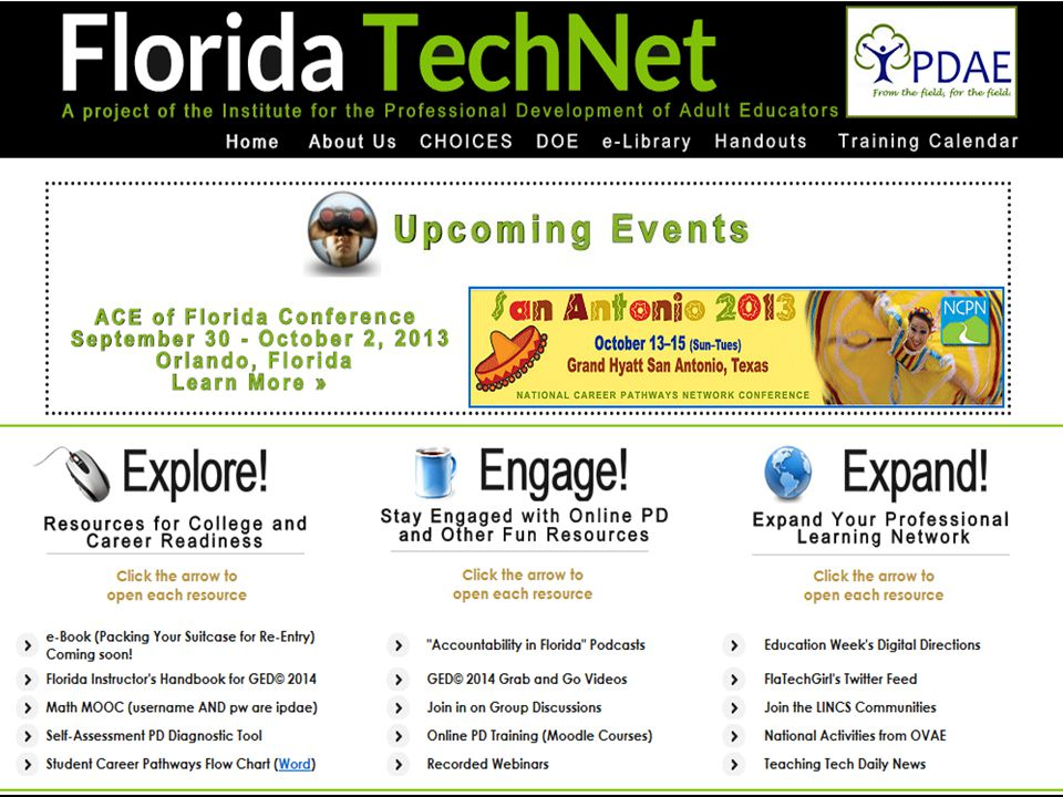 Start with some of the resources available through Florida TechNet.