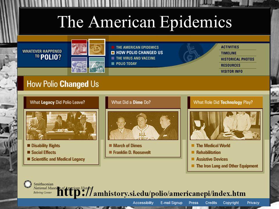 The American Epidemics