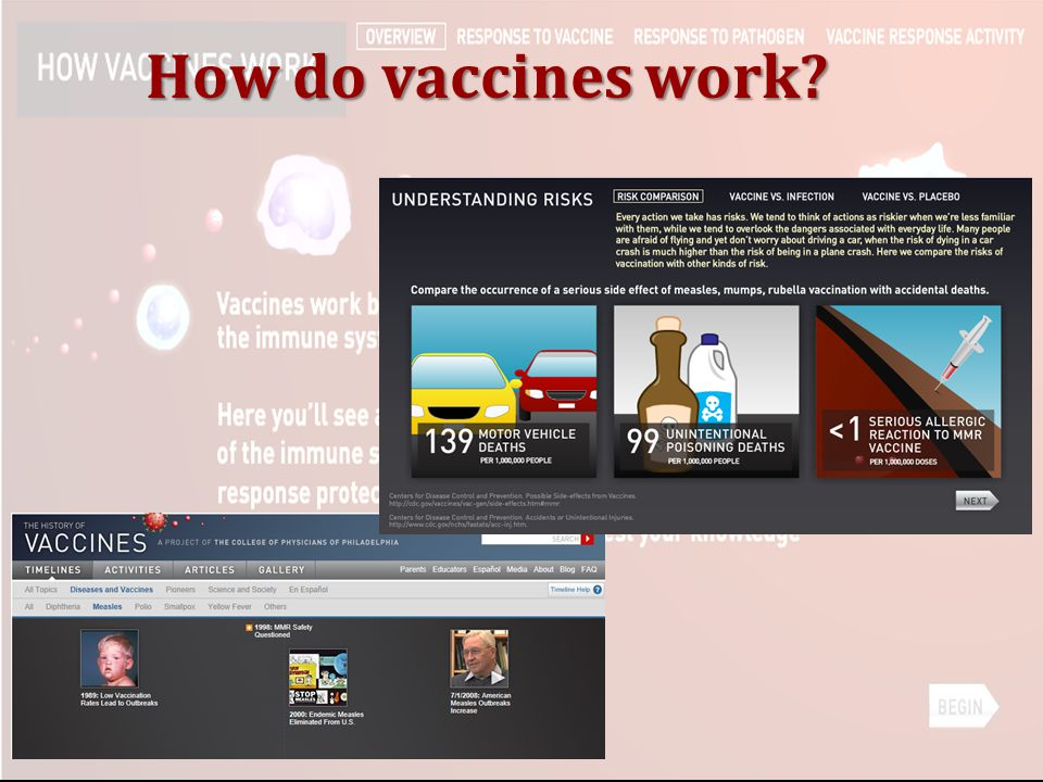 How do vaccines work Key Points