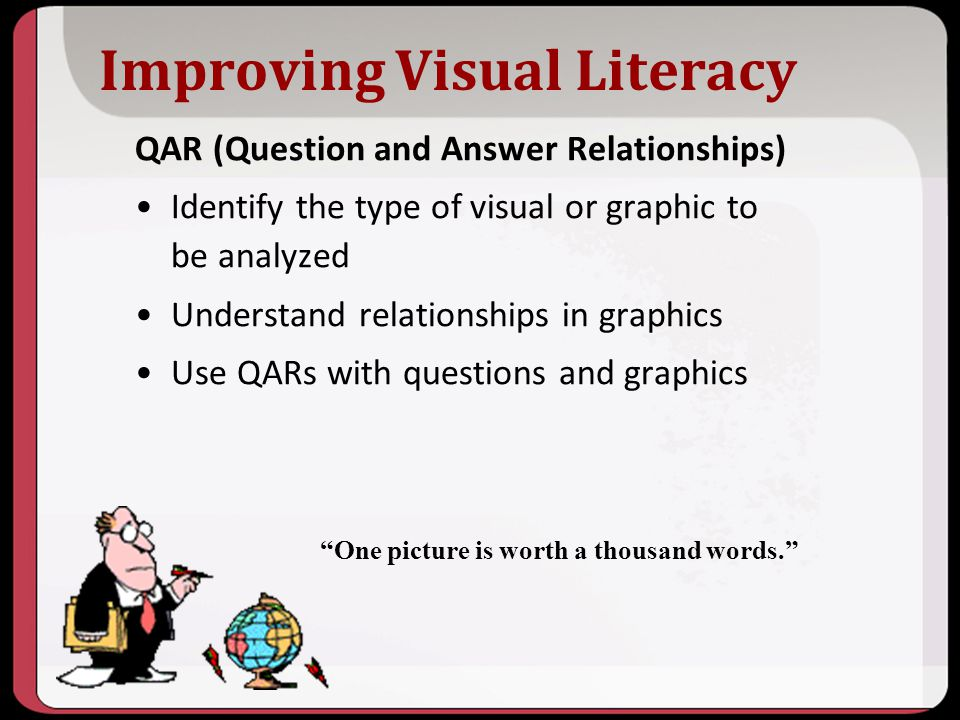 Improving Visual Literacy