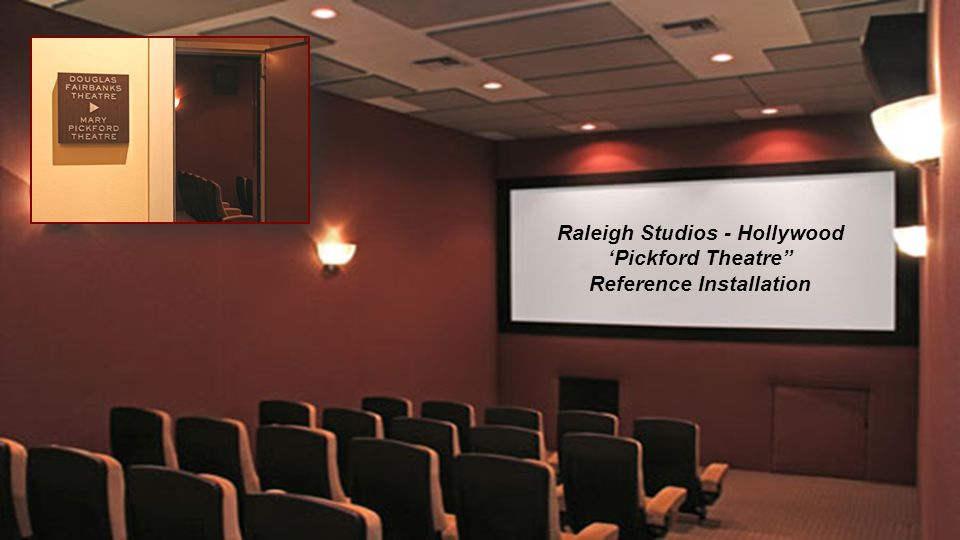 Raleigh Studios - Hollywood Reference Installation