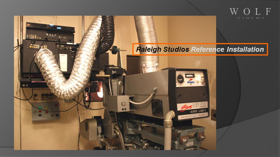 Raleigh Studios Reference Installation