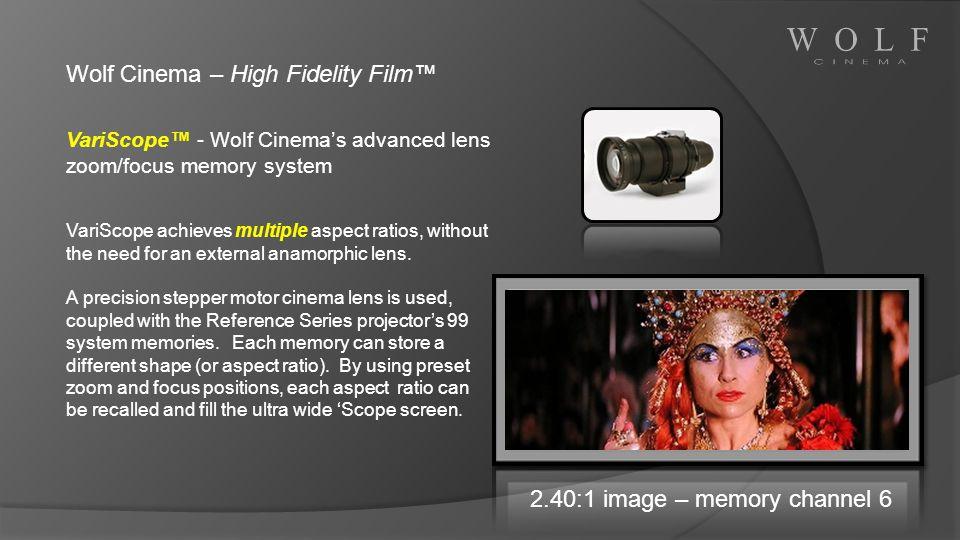 Wolf Cinema – High Fidelity Film™