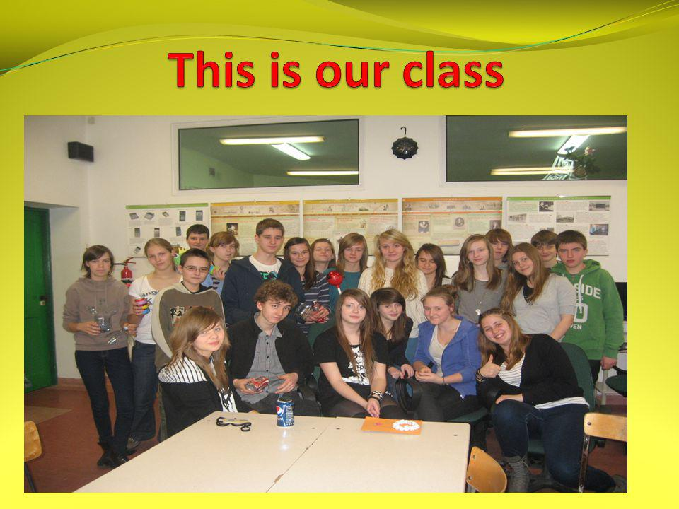 This is our class