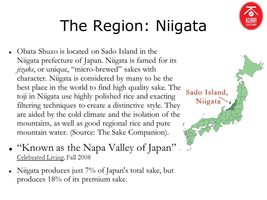 The Region: Niigata