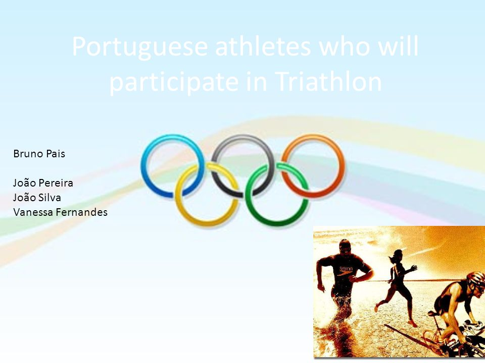 Portuguese athletes who will participate in Triathlon