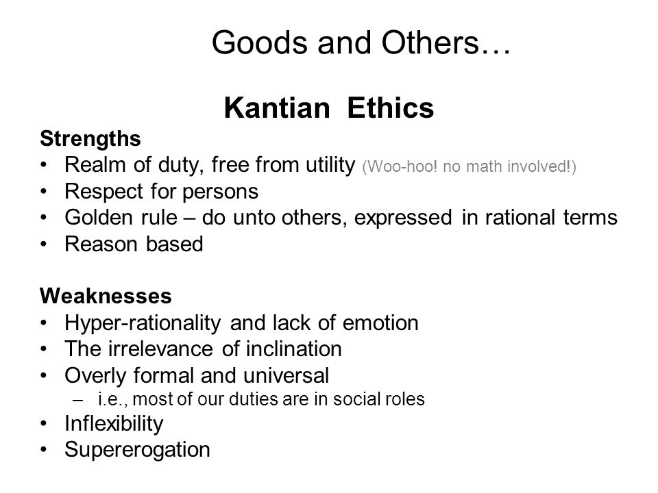kant and mills theories essay Comparison of kant and mill similarities the following similarities were noted by dr hitchcock: both propose to base morality on a single first principle (for kant the categorical imperative in its three supposedly equivalent formulations, for mill the principle of utility.