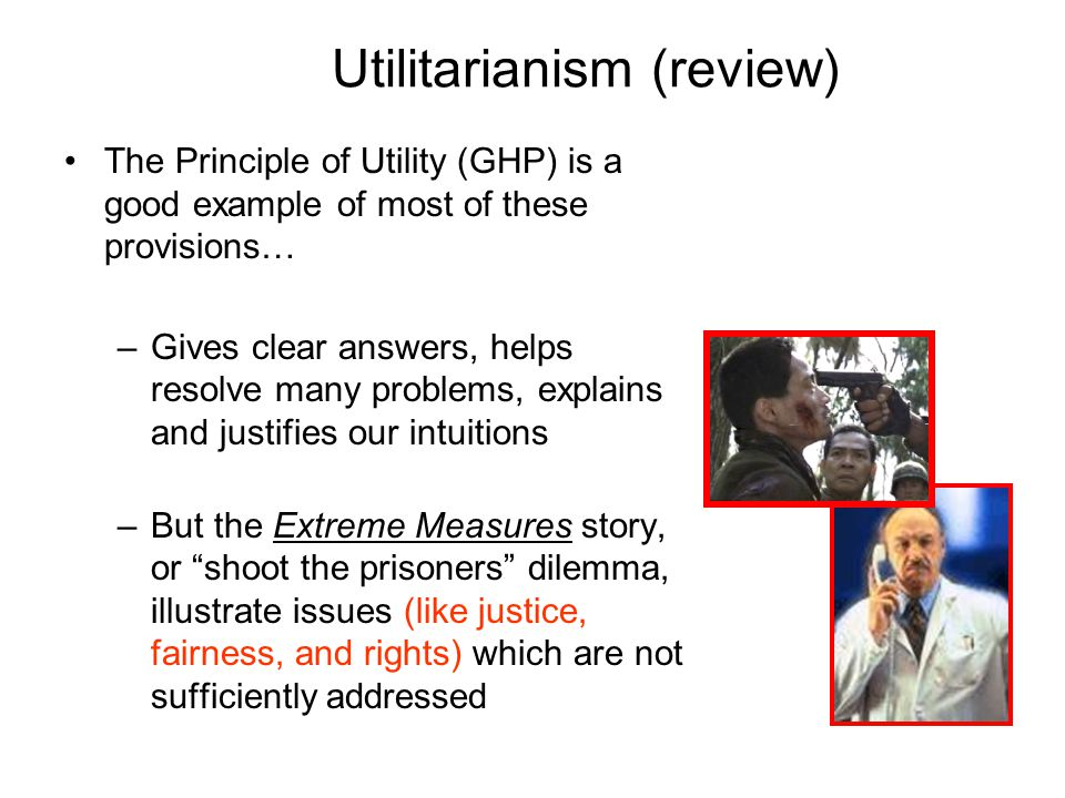 Utilitarianism (review)