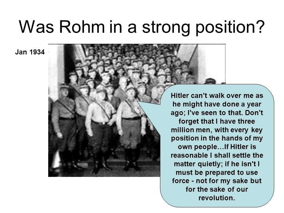 Was Rohm in a strong position