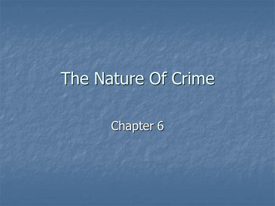 The Nature Of Crime Chapter 6