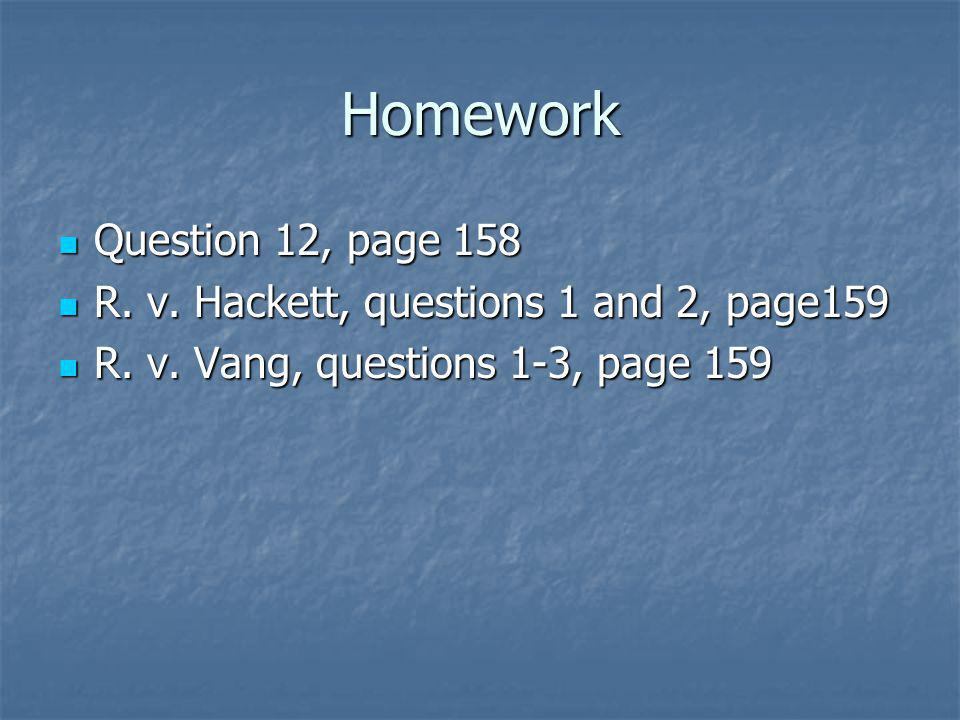 Homework Question 12, page 158