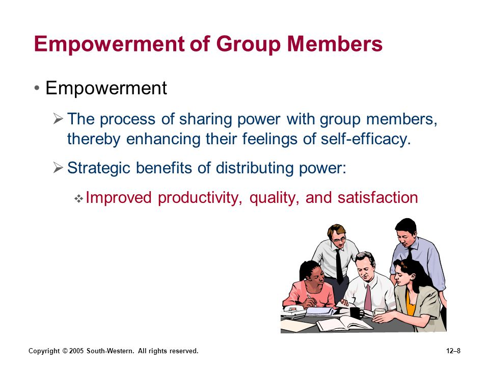 Empowerment of Group Members