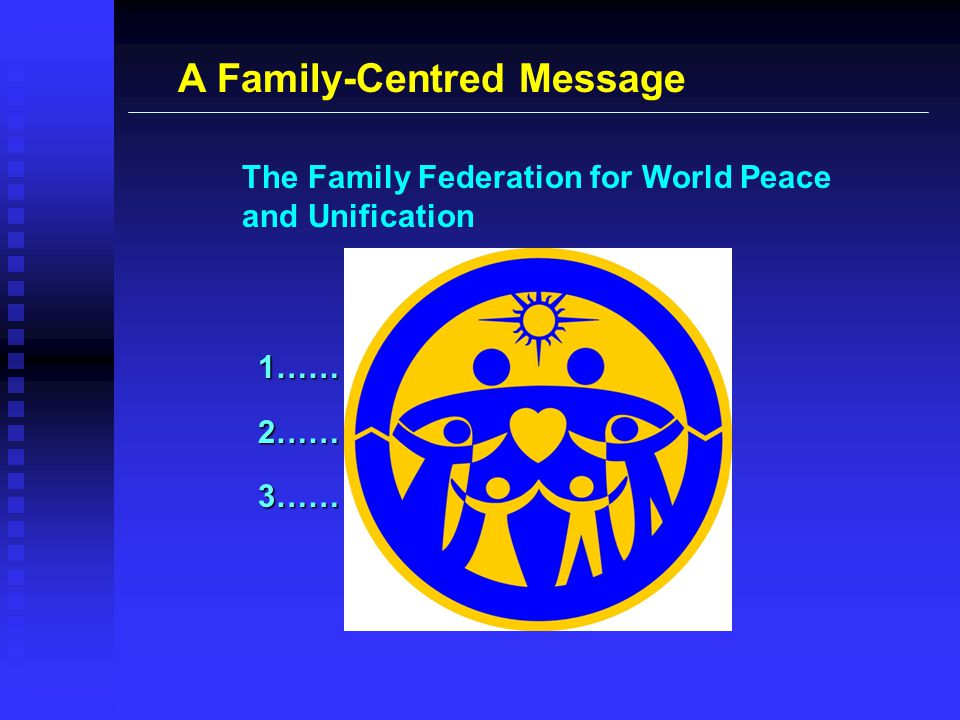 A Family-Centred Message