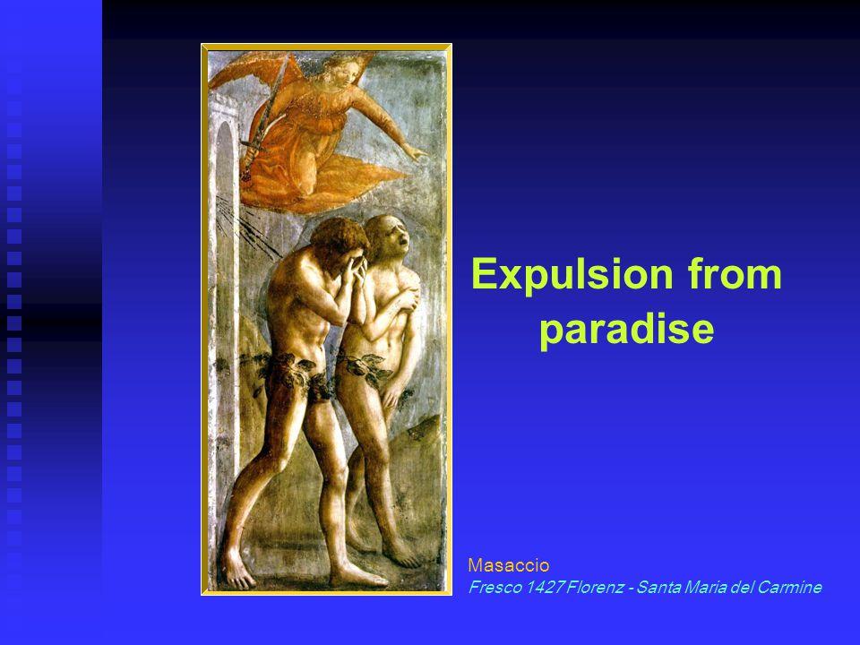 Expulsion from paradise