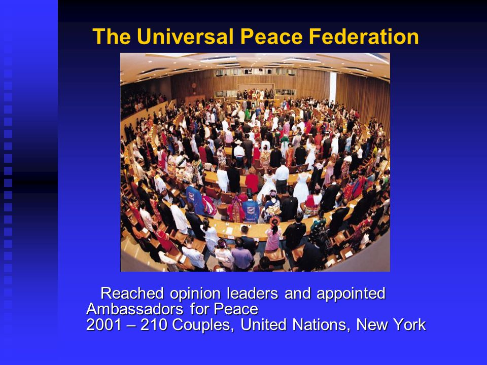 The Universal Peace Federation