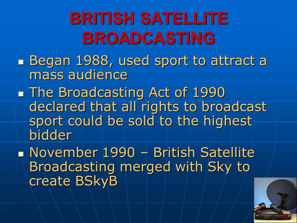 BRITISH SATELLITE BROADCASTING