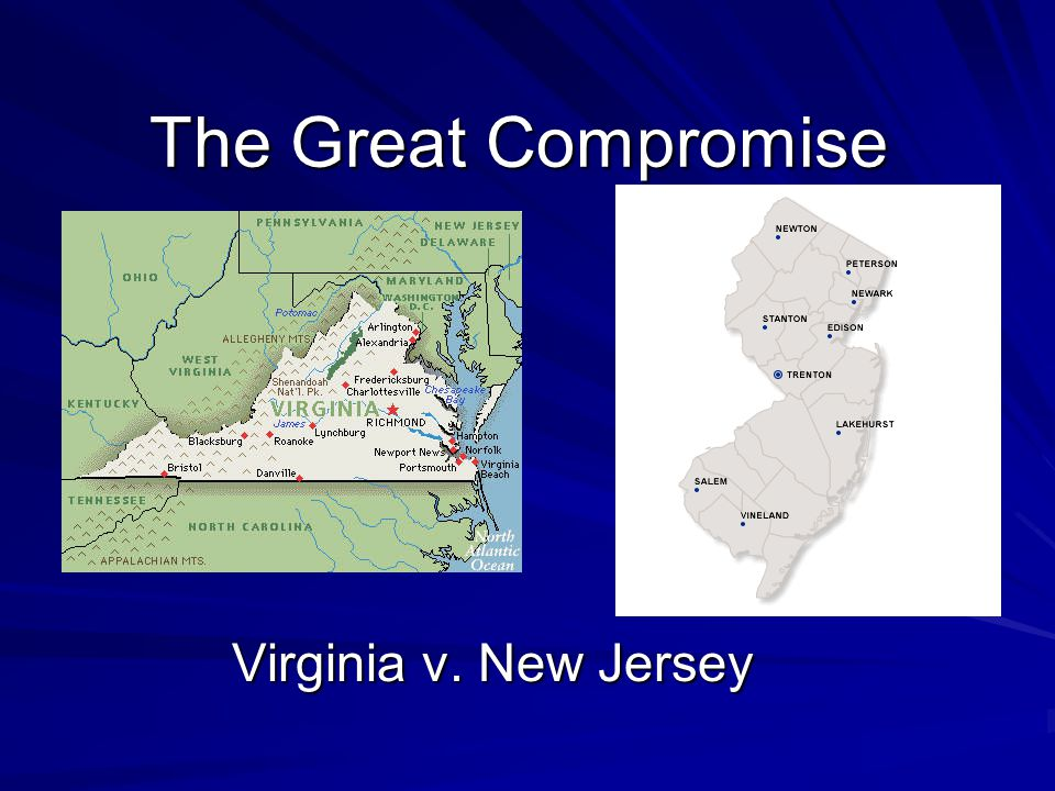 The Great Compromise Virginia v. New Jersey
