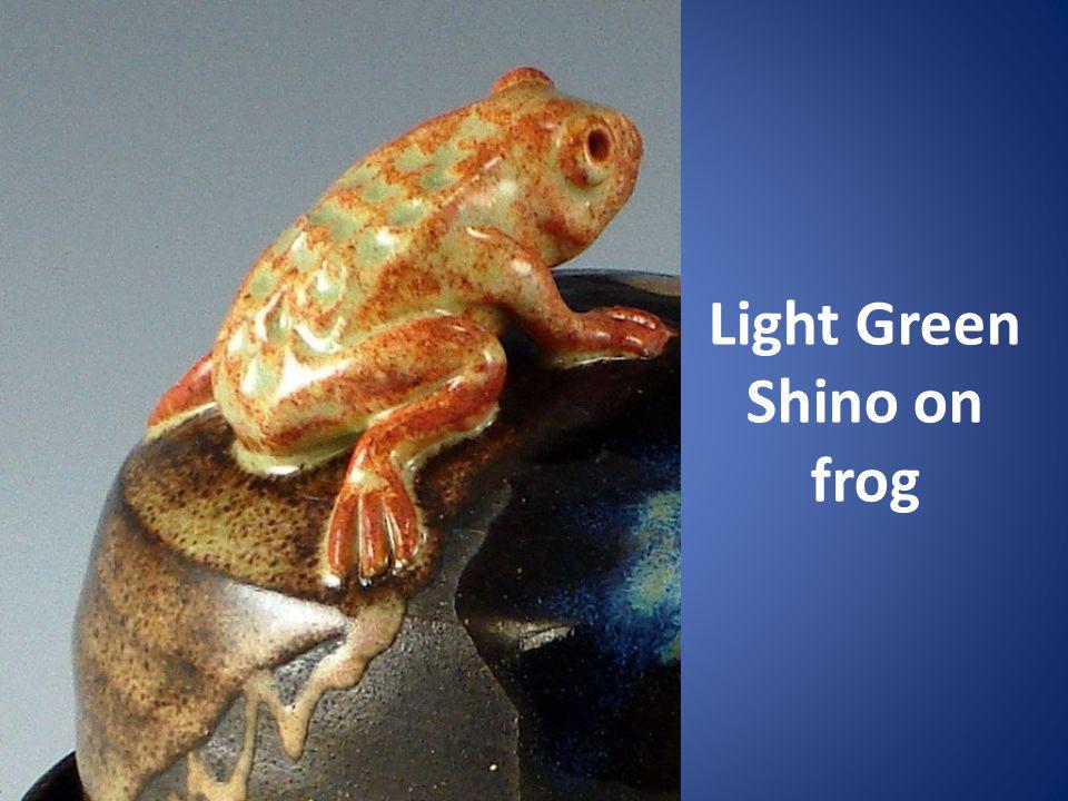 Light Green Shino on frog