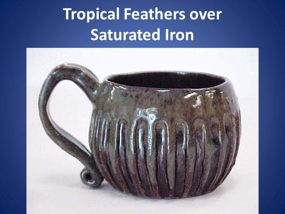 Tropical Feathers over Saturated Iron