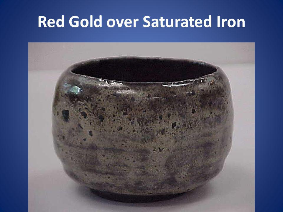 Red Gold over Saturated Iron
