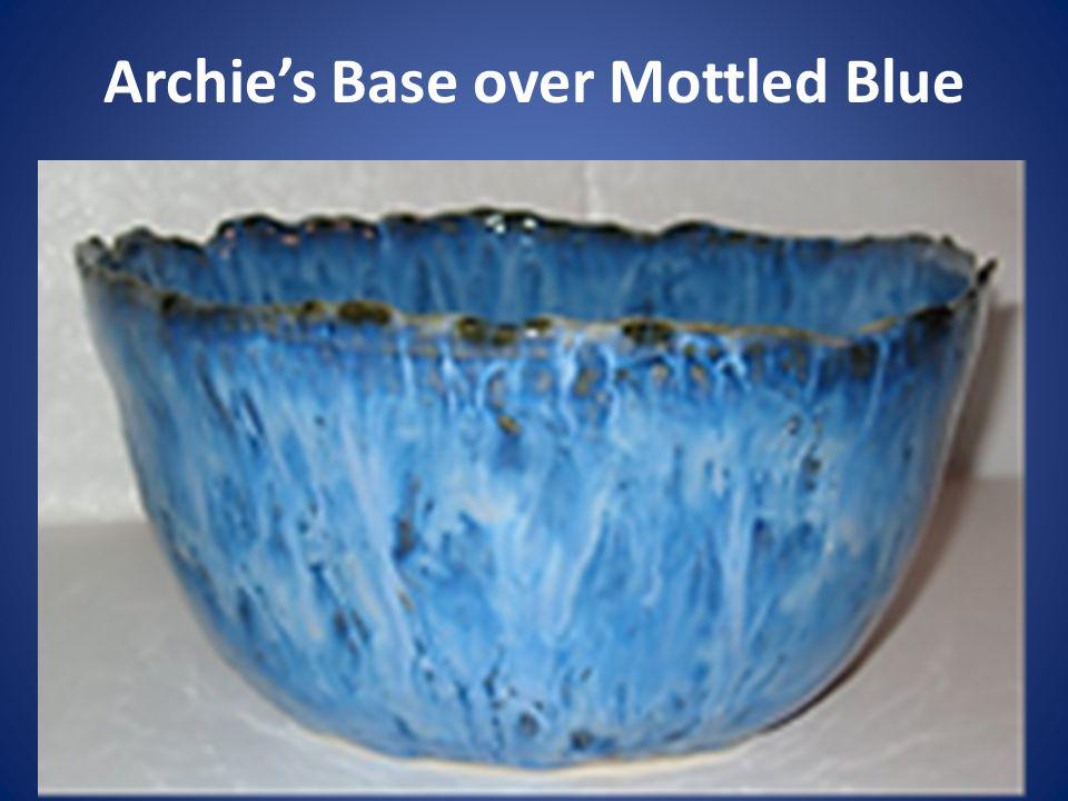 Archie's Base over Mottled Blue