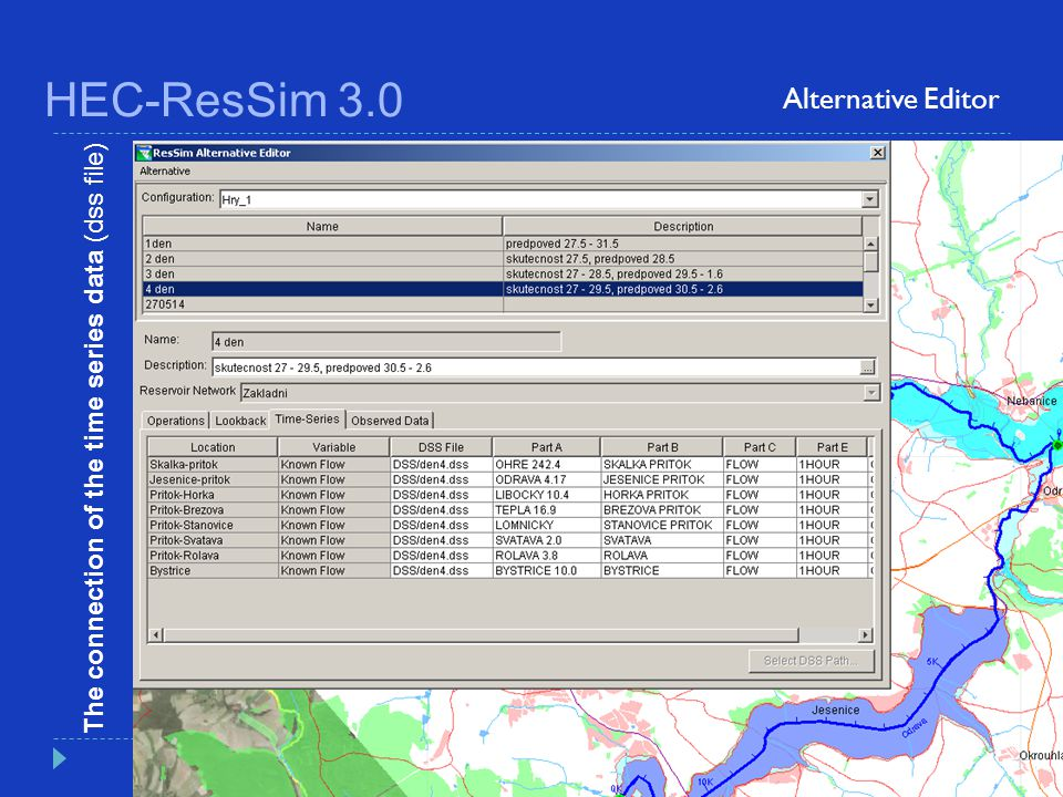 HEC-ResSim 3.0 Alternative Editor