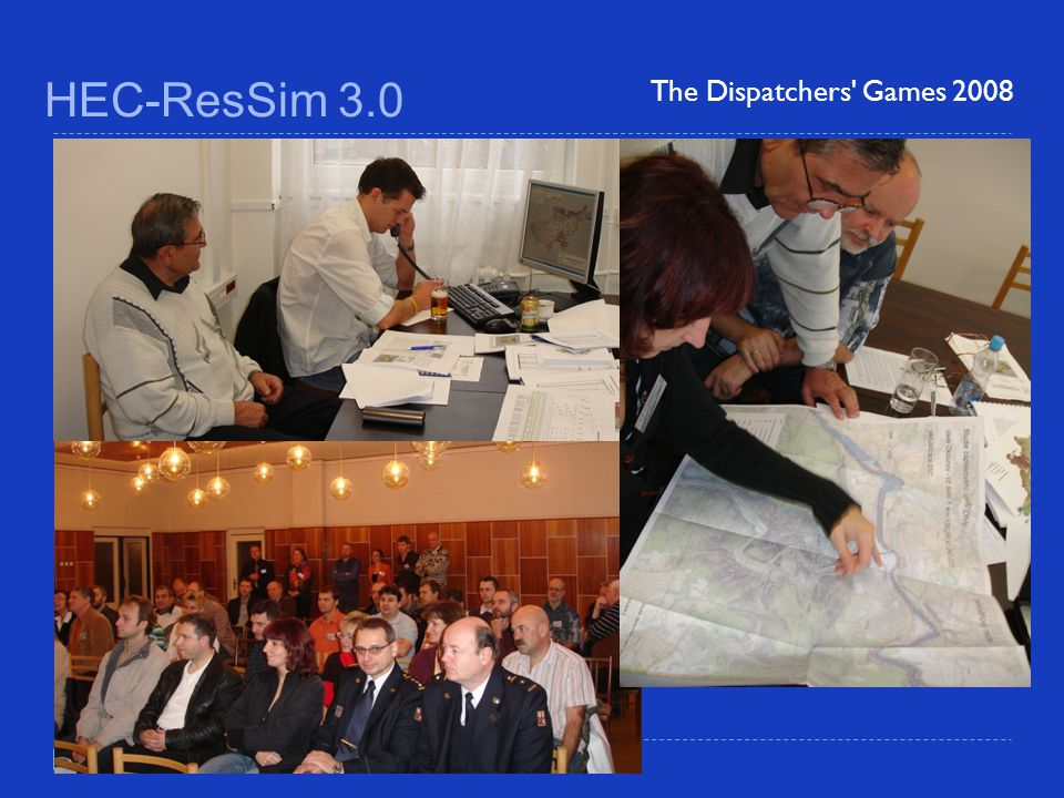 HEC-ResSim 3.0 The Dispatchers Games 2008