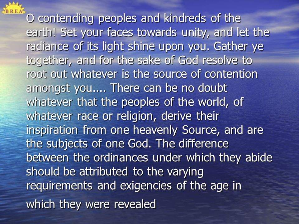O contending peoples and kindreds of the earth