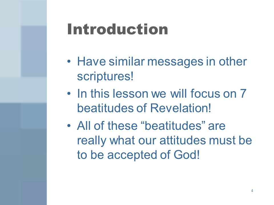 Introduction Have similar messages in other scriptures!