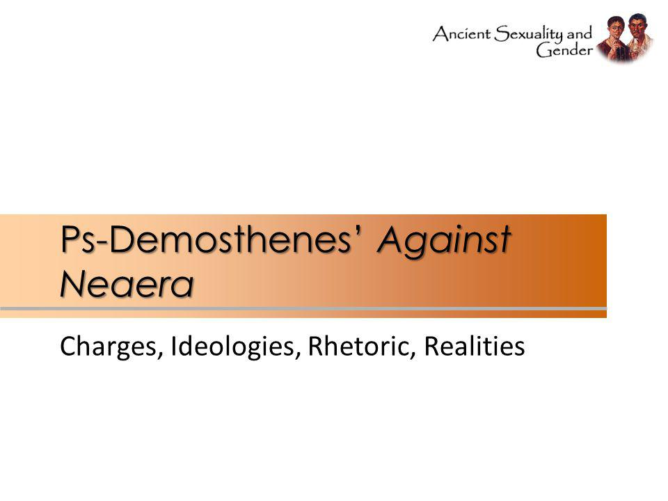 Ps-Demosthenes' Against Neaera