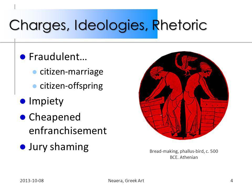 Charges, Ideologies, Rhetoric