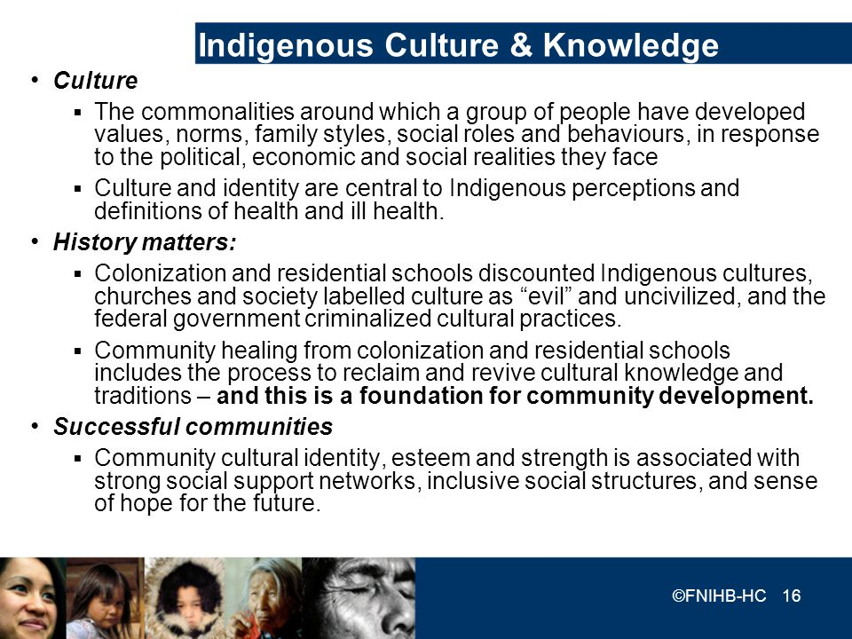 Indigenous Culture & Knowledge