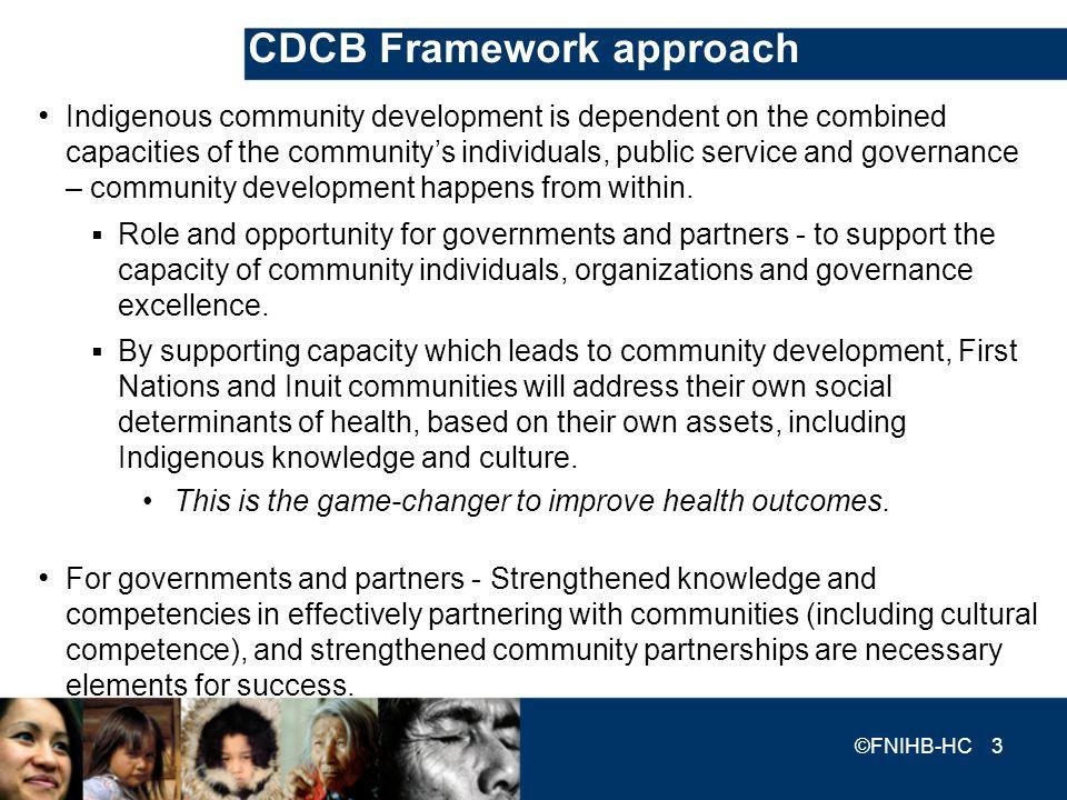 CDCB Framework approach