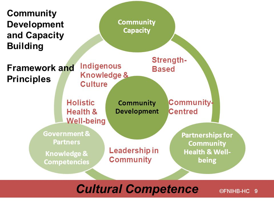 Cultural Competence Community Development and Capacity Building