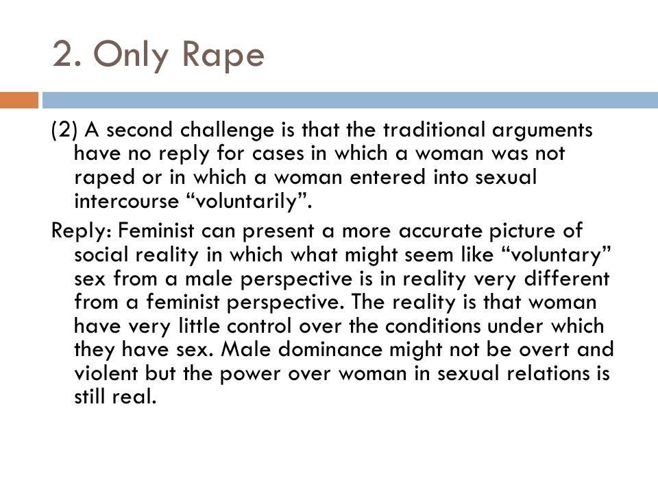2. Only Rape