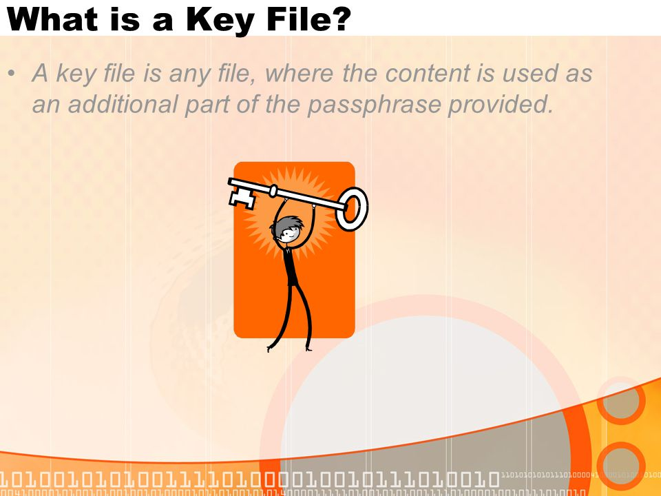 What is a Key File.